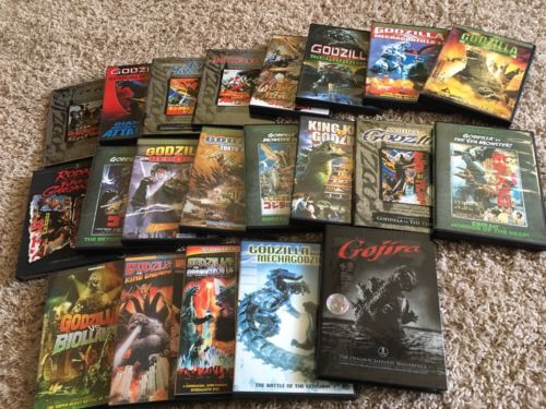 Godzilla DVD Lot Collection Toho 29 films Honda Hessei Showa Ghidorah