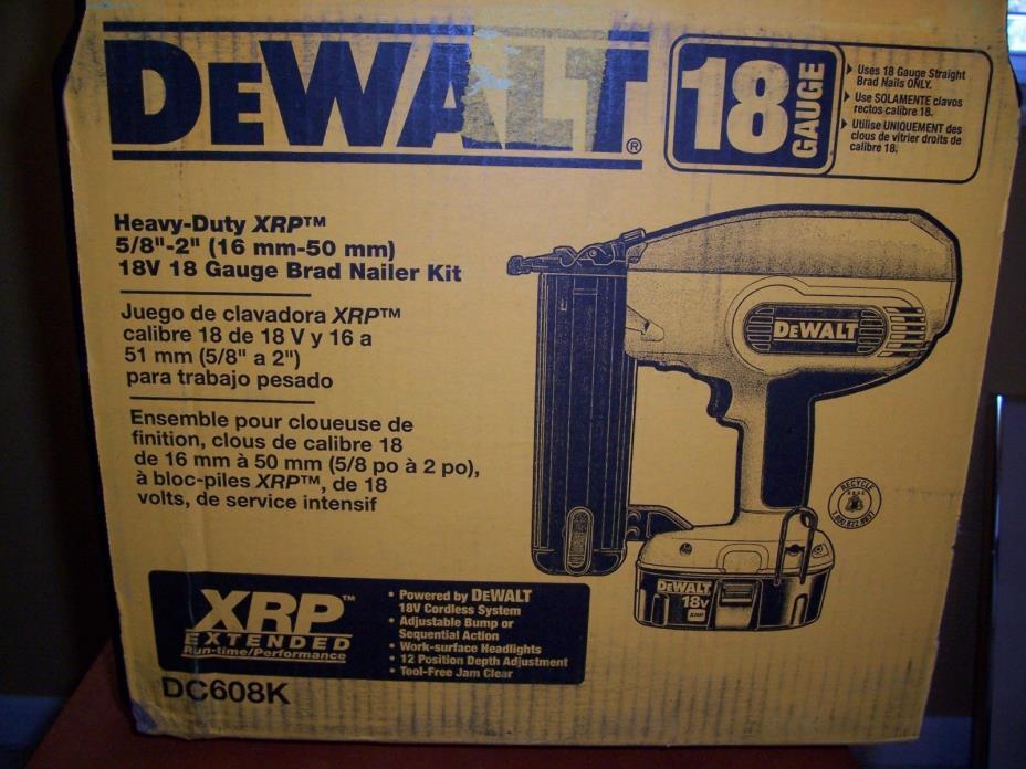 DEWALT DC608K 18V 5/8
