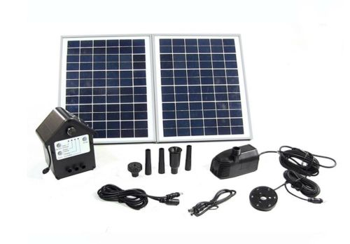 Outdoor Water Fountain Solar Pump And Panel Kit 118