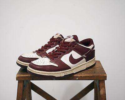 Nike SB Dunk Lo Low 90's - 2000's Burgundy M 6.5 / W 8 Old School Sneaker
