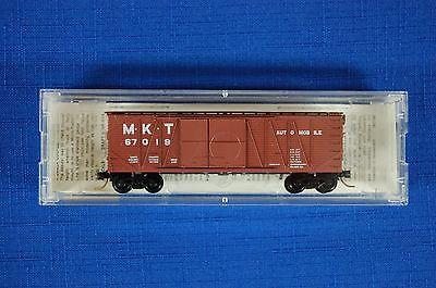 Micro Trains 29040 M K T 40' Outside Braced Boxcar 1 1/2 Door  Road  #67019