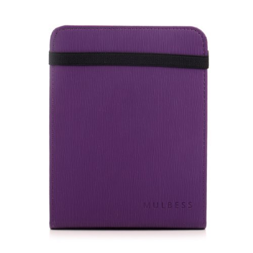 Mulbess - Nook GlowLight 4th Stand Case Cover - Leather Case Cover with Elastic
