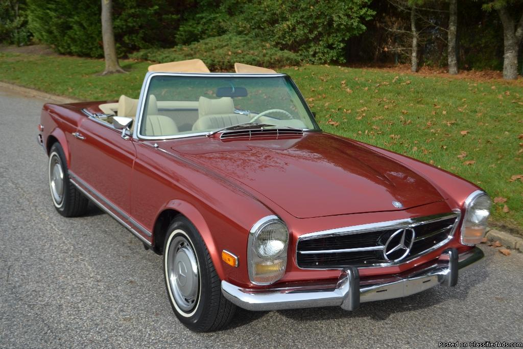 1969 Mercedes 280SL in highly restored condition