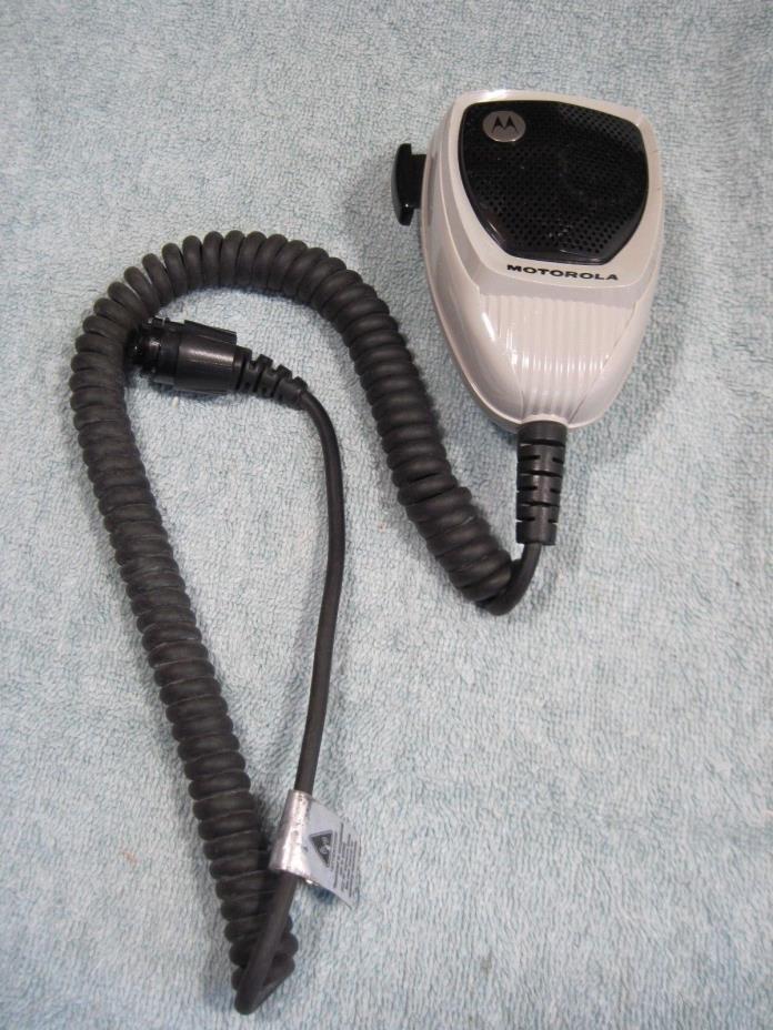 MOTOROLA MOBILE RADIO MICROPHONE XPR XTL APX UHF VHF XTL5000 XTL2500 XPR5550 _G