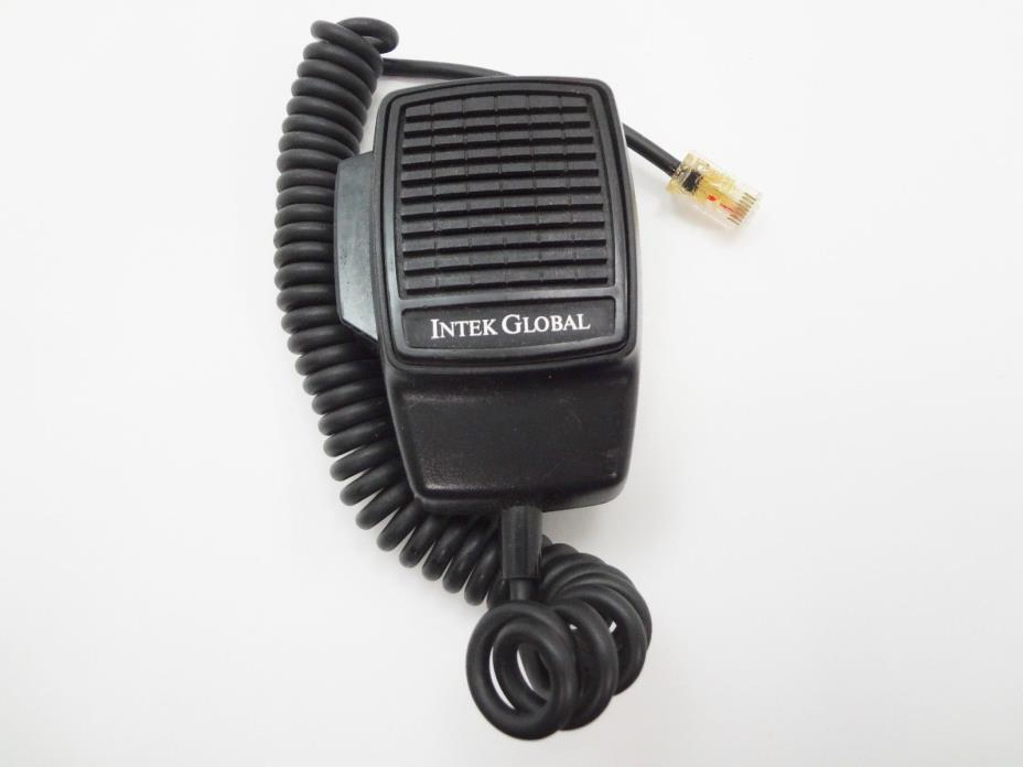 Intek Global CB Radio Speaker Mic Microphone Walkie Talkie