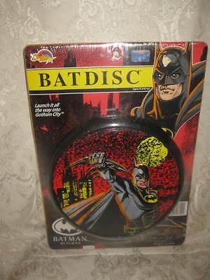 VINTAGE 1992 BATMAN RETURNS BAT DISC TOY - MIP