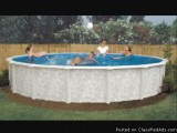 brand new round above ground pool