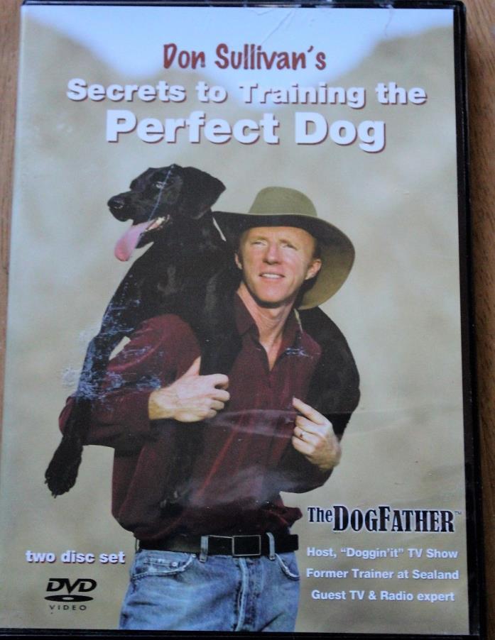The Perfect Dog 2-Disc DVD Set Don Sullivan's Secrets to Train the Perfect Dog