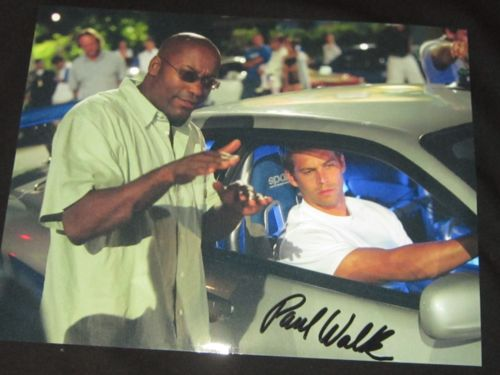 Paul Walker Rare Studio Copy Mint - Autographed - Signed Photo