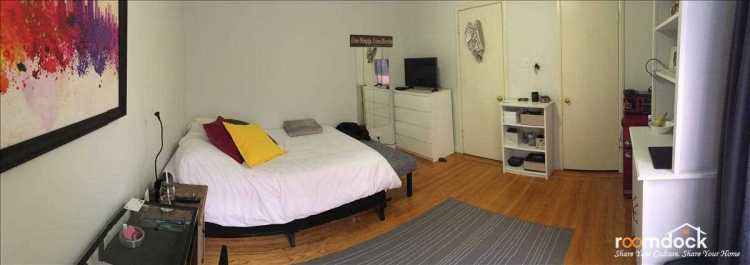 Bedroom available in the Marina