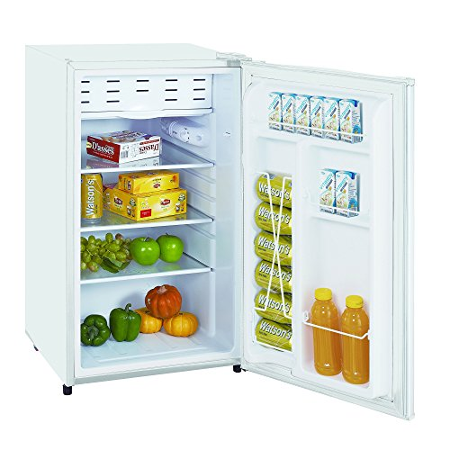 Impecca Classic Compact Refrigerator and Freezer, Single Door Reversible Door