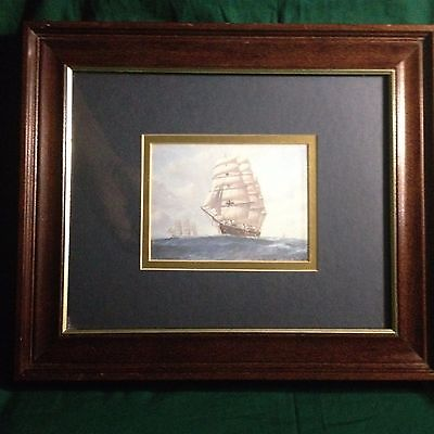 Clipper Ships--Library Framed Print--Nice!