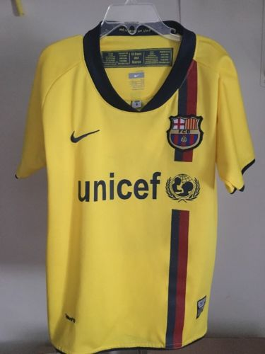 Youth Messi Barcelona Jersey  Size 6