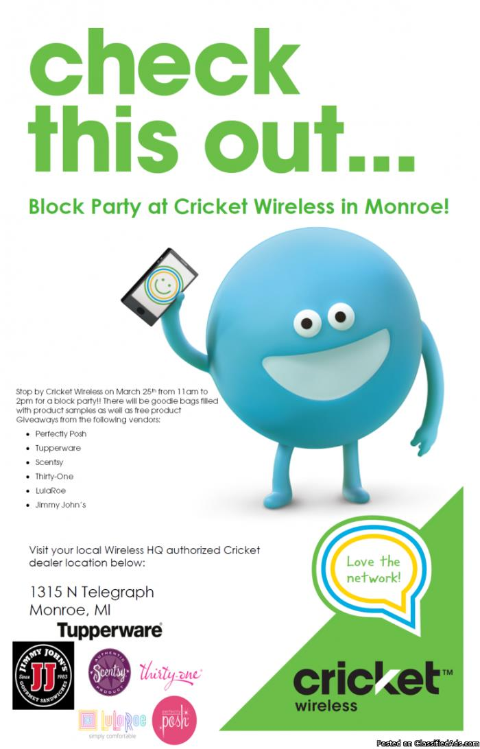 Block Party at Cricket Wireless