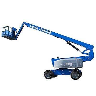 2008 Genie Articulating Z-80/60 Boom Lift - 2650 Hours - Well Maintained - USA