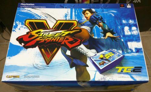 Mad Catz Street Fighter V Chun-Li Arcade FightStick TE2 Sony Playstation PS4 PS3