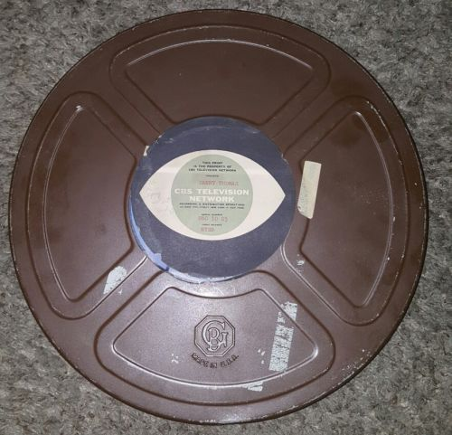 Danny Thomas CBS Television 16 mm film reel 1960