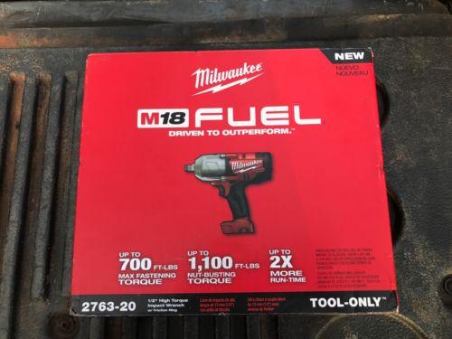 New Milwaukee M18 Fuel 1/2 Impact 2763-20