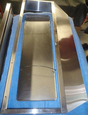 Stainless Steel range/stove HOOD Vent ss COVER Only, NO Actual Venting system