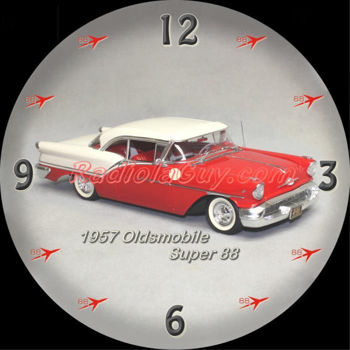 PAM Clock Face 1957 Oldsmobile