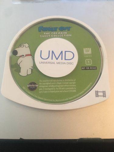 Family Guy - The Freakin' Sweet Collection (UMD, 2006, Full Frame) PSP Movie