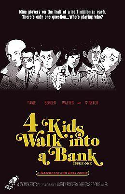 4 Kids Walk Into a Bank #1 Southern Fried Comics Variant Black Mask Comics