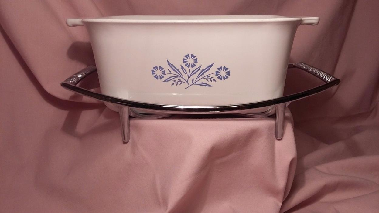 CORNINGWARE Cornflower blue rectangle dish
