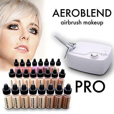 Aeroblend Airbrush Makeup Airbrushes Makeup PRO Starter Kit - Professional - 24