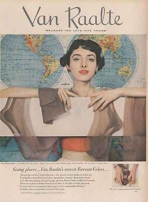 1950 Van  Raalte Nylons: Forecast Colors (16065)
