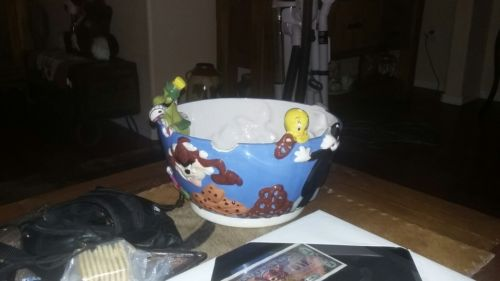 Looney Tunes Popcorn Bowl.