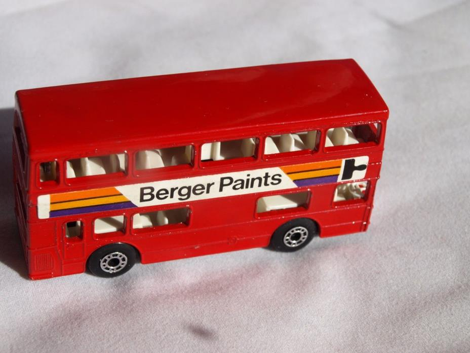 Matchbox Superfast No 17 The Londoner Berger Paints