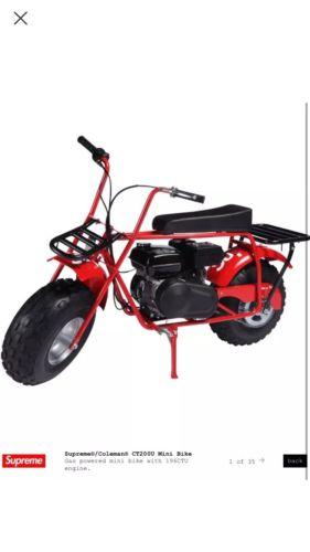 Supreme/Coleman CT200U Mini-Bike *PREORDER!!!