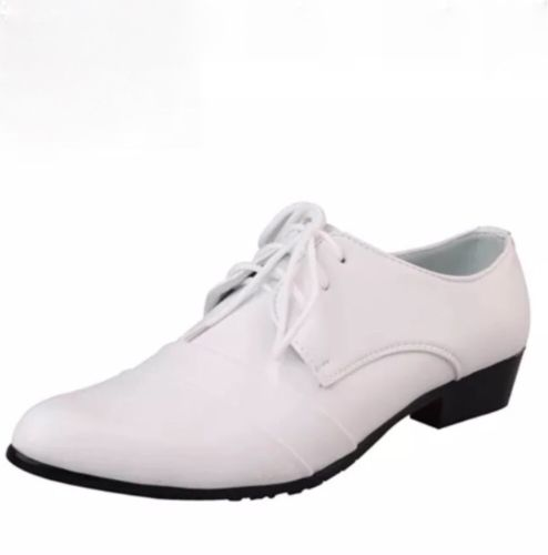 Fashion Wedding Men White Shoes Men US 10.5