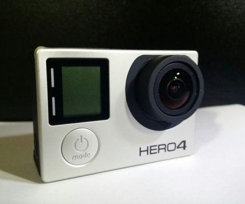 GoPro HERO4 Black Edition Camcorder Camera CHDHX-401 - Only Half Works