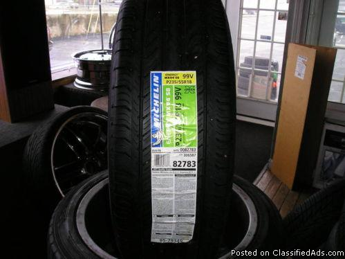 4 18 inch micheln energy tires