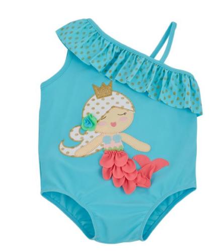 Mud Pie Mermaid Swimsuit 6 to 9 Months