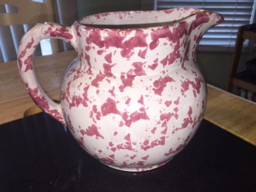 Bybee Pottery Cranberry Sponge 6