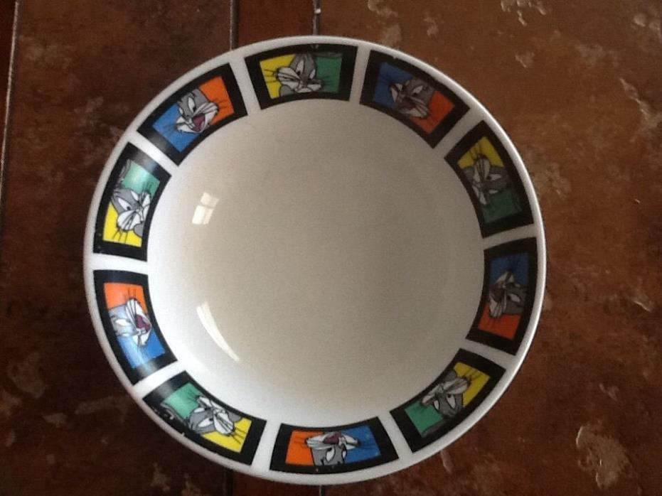 Warner Bros Looney Tunes Bugs Bunny Gibson Soup/Cereal Bowl