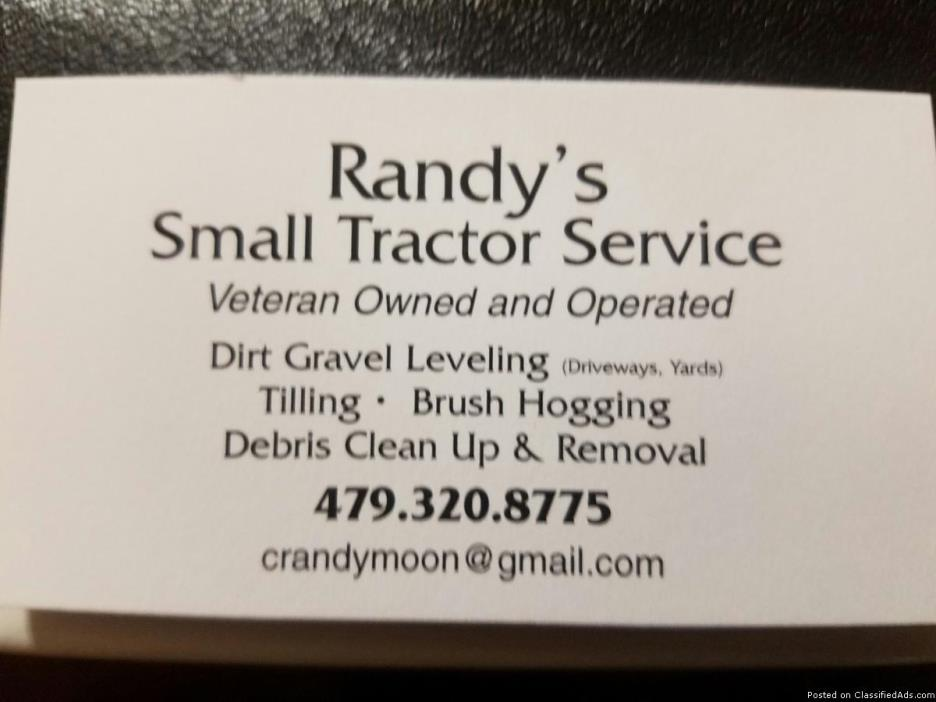 Randy's Small Tractor Service