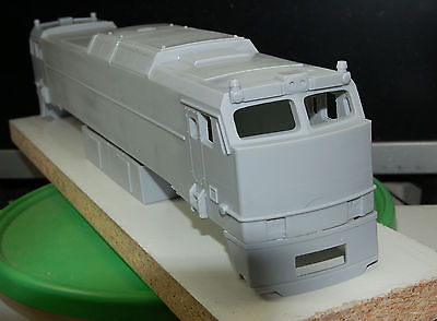 O Scale Trains,  E60 MA AMTRAK ELECTRIC POWERED ENGINE SHELL & SOME PARTS BY BDO