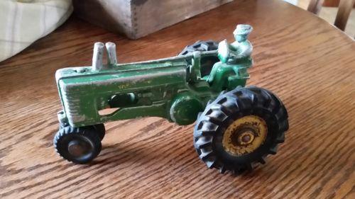Toy john deer tractor