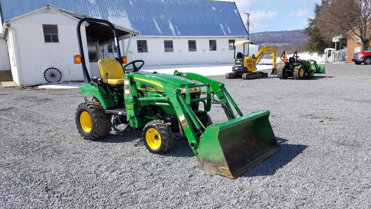 2006 John Deere 2305 Compact Tractor Ag Utility Engine 4x4 w/ Loader 24hp Diesel