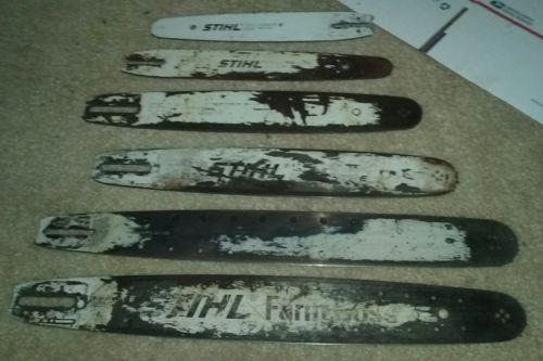 Lot Stihl Chainsaw Bars