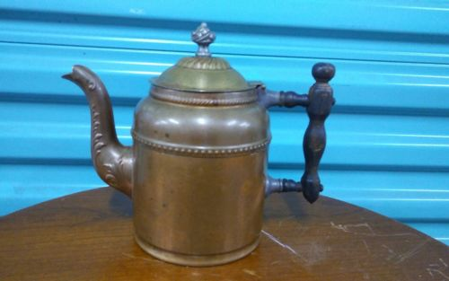 antique cooper Coffee Pot