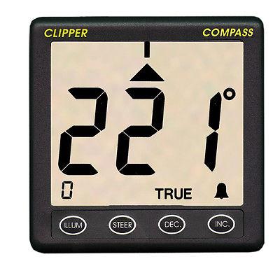 Clipper Compass System With Remote Fluxgate Sensor Part # Cl-C