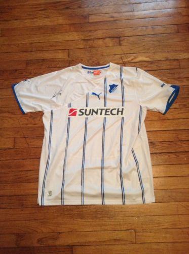 2011-12 Hoffenheim away Srdjan Lakic Signed Jersey
