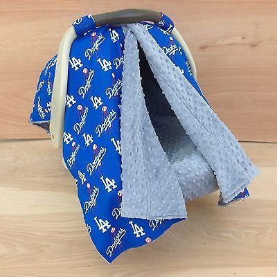 2 in 1 Car Seat Canopy Tent- LA Dodgers