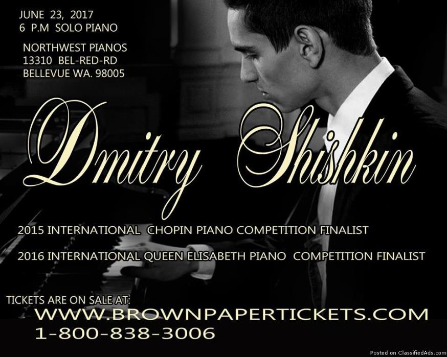 Dmitry Shishkin's Solo Classic piano concert