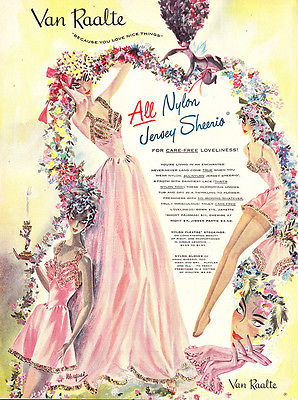 1948 Van Raalte Nylons: Jersey Sheerio (24591)