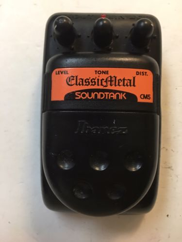 Ibanez CM5 Soundtank Classical Metal Distortion Rare Vintage Guitar Effect Pedal